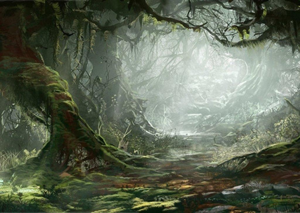 Eerie Mirkwood Forest Audio Atmosphere