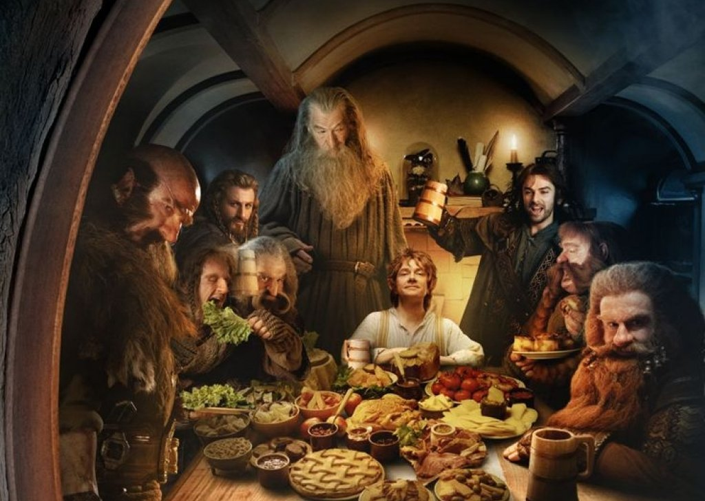 the theme of the hobbits by j r r tolkien