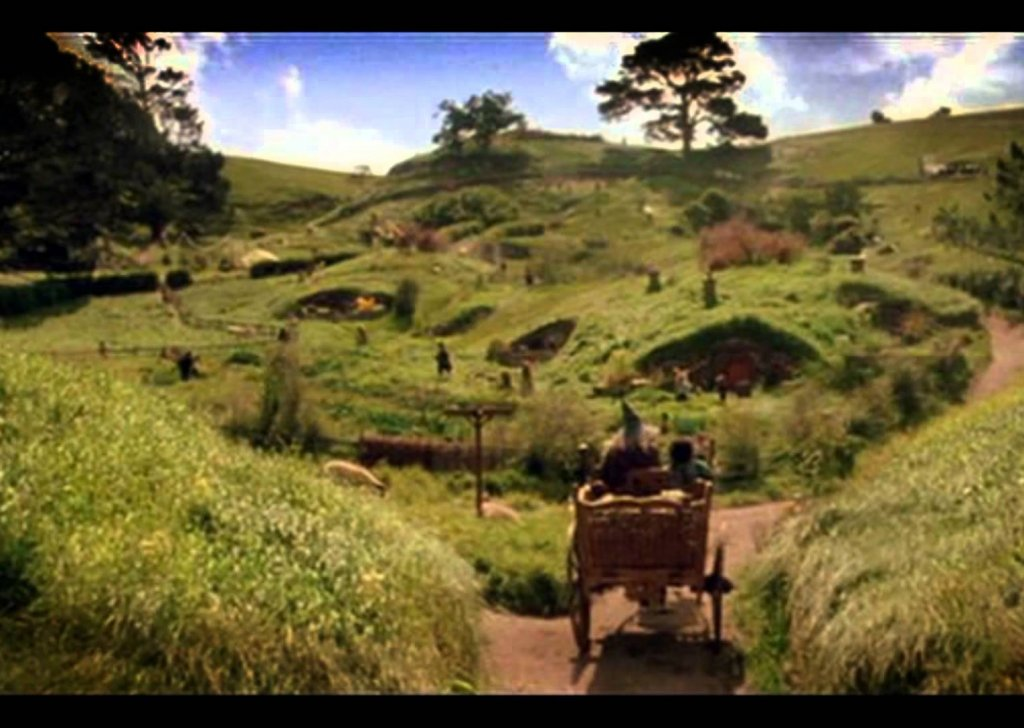 the shire  from the hobbit  lord of the rings  audio atmosphere